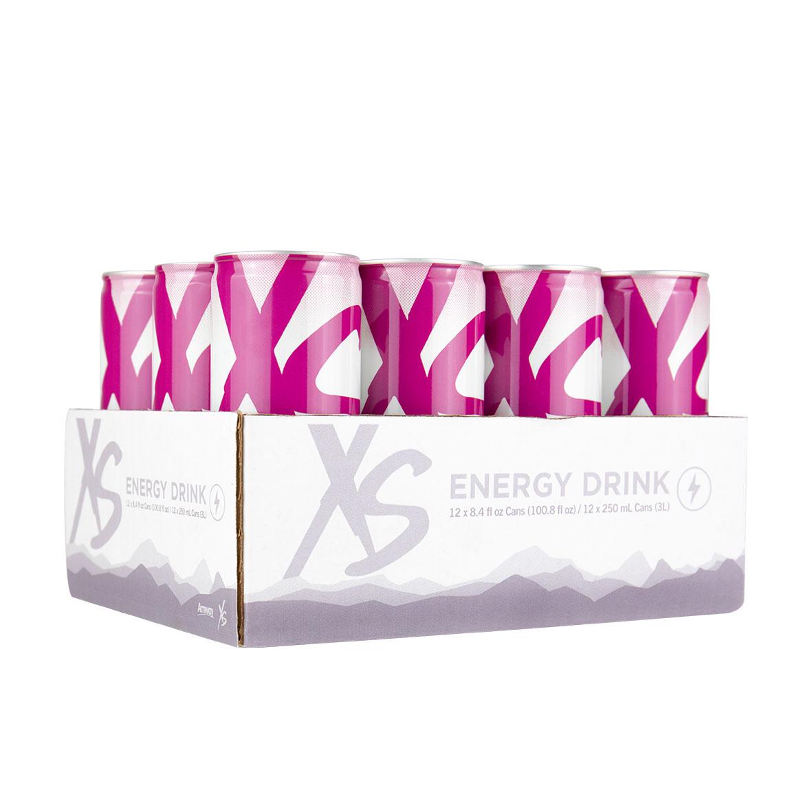 XS Energy Drink Cranberry - UVA